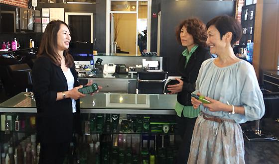 green salon #002 サンフランシスコ「VIANGE HAIR」その1