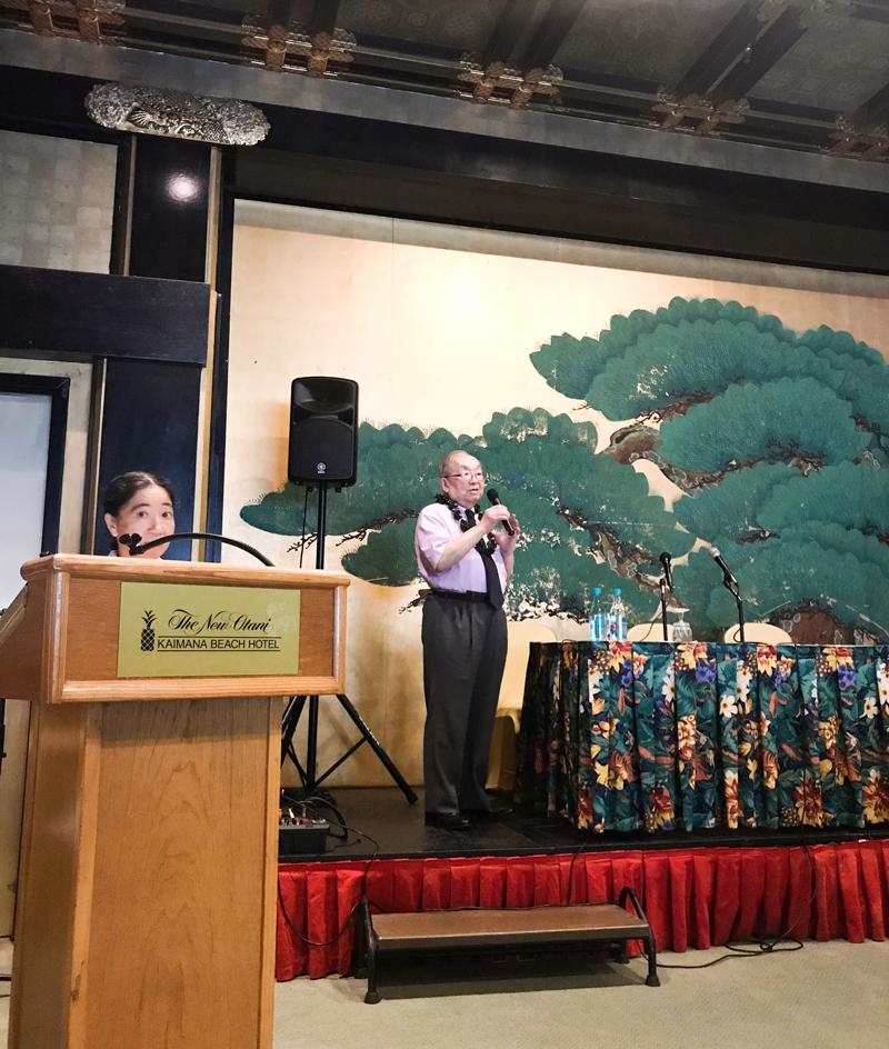 吉川千明「千明塾」ホノルルで講演する帯津先生。大ファンになってしまいました。
